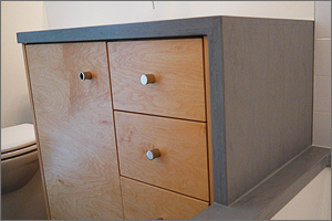Modified Construction Cabinetry